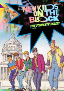 New Kids on the Block 1990 DVD Cover
