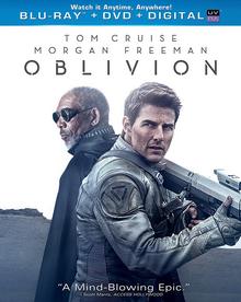Oblivion 2013 BLU-RAY+DVD+DIGITAL Cover