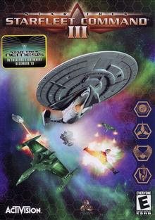 Star Trek Starfleet Command III 2002 Game Cover