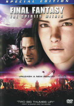 Final Fantasy The Spirits Within 2001 DVD Cover