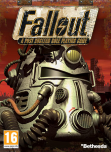 Fallout A Post Nuclear Role Playing Game 1997 Game Cover