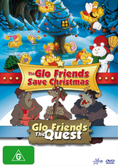 The GLO Friends Save Christmas 1985 DVD Cover