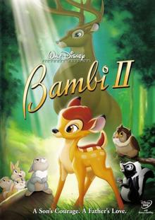 Bambi II 2006 DVD Cover