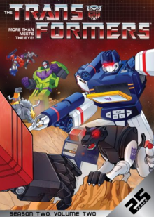 The Transformers 1984 DVD Cover