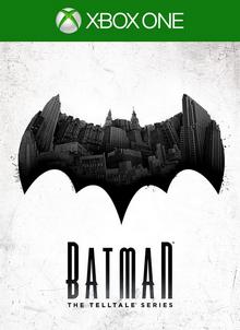 Batman The Telltale Series 2016 Game Cover