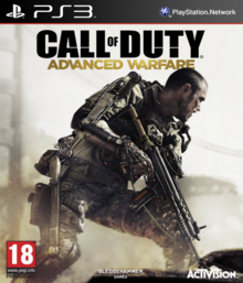 Call of Duty Advanced Warfare 2014 Game Cover