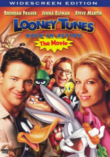 Looney Tunes Back in Action 2003 DVD Cover