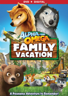 Alpha and Omega Family Vacation 2015 DVD Cover