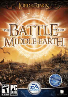 The Lord of the Rings The Battle for Middle-Earth 2004 Game Cover