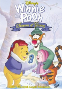 Disney's Winnie the Pooh Seasons of Giving 1999 DVD Cover