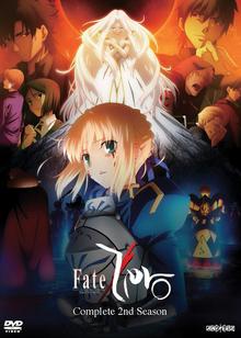 Fate Zero 2013 DVD Cover