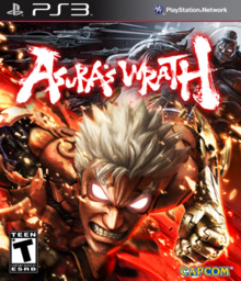 Asura's Wrath 2012 Game Cover
