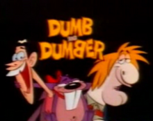 Dumb and Dumber 1995 Title Card