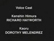 Rurouni Kenshin ep10 Dub Credits 1