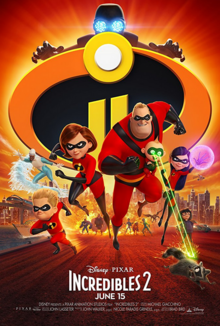 Incredibles 2 2018 Poster