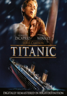 Titanic 1997 DVD Cover