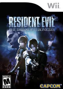 Resident Evil The Darkside Chronicles 2009 Game Cover