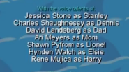 Stanley Wild for Sharks! 2002 Credits