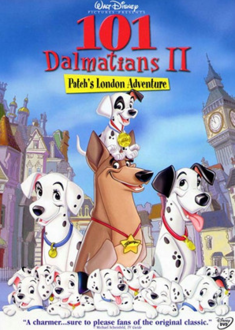 101 Dalmatians II Patch's London Adventure 2003 DVD Cover