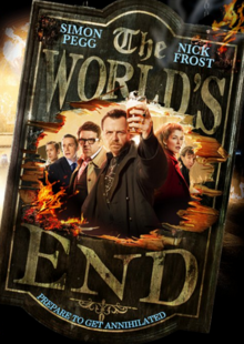 The World's End 2013 DVD Cover