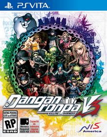 Danganronpa V3 Killing Harmony 2017 Game Cover