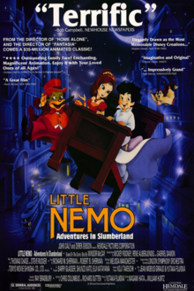 Little Nemo Adventures in Slumberland 1989 Poster
