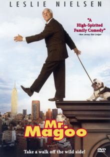 Mr. Magoo 1997 DVD Cover