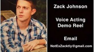 Zack Johnson Voice Acting Demo Reel