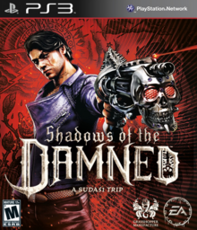 Shadows of the Damned 2011 Game Cover