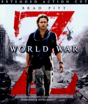 World War Z 2013 Blu-Ray Cover