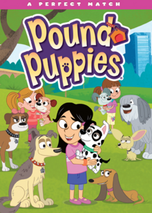 Pound Puppies 2010 DVD Cover