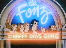 The Fonz and the Happy Days Gang 1980 Title Card