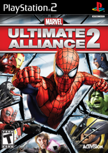 Marvel Ultimate Alliance 2 2009 Game Cover