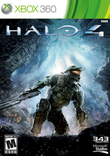 Halo 4 2012 Game Cover