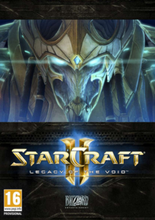 StarCraft II Legacy of the Void 2015 Game Cover