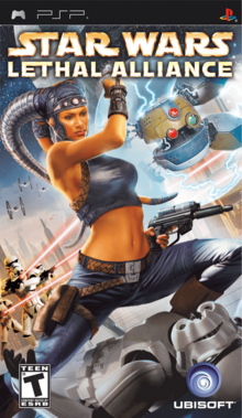 Star Wars Lethal Alliance 2006 Game Cover