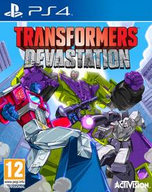 Transformers Devastation 2015 Game Cover