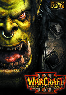 Warcraft III Reign of Chaos 2002 Game Cover