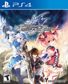 Fairy Fencer F Advent Dark Force 2016 Game Cover