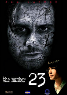 The Number 23 2007 DVD Cover