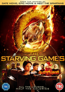 The Starving Games 2013 DVD Cover
