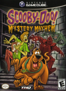 Scooby-Doo Mystery Mayhem 2004 Game Cover