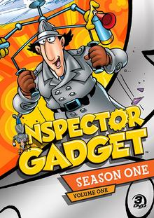 Inspector Gadget 1983 DVD Cover