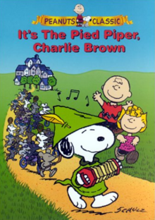 It's The Pied Piper, Charlie Brown 2000 DVD Cover
