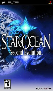 Star Ocean Second Evolution 2009 Game Cover