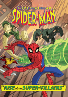 The Spectacular Spider-Man 2008 DVD Cover