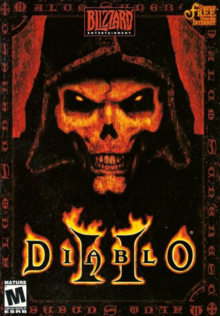 Diablo II 2000 Game Cover