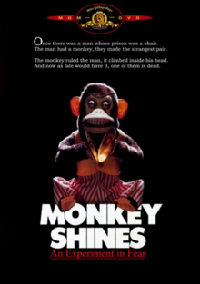 Monkey Shines 1988 DVD Cover