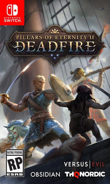 Pillars of Eternity II Deadfire 2018 Game Cover
