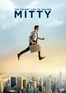 The Secret Life of Walter Mitty 2013 DVD Cover